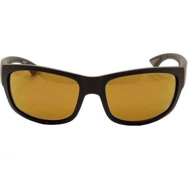 e2299e1b5ec Shop Smith Optics Dover Matte Black Frame Polarized Bronze Lens Sunglasses  - Free Shipping Today - Overstock.com - 17353199