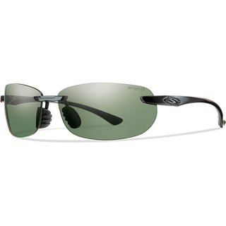Smith Optics Turnkey Black Frame Chromapop Grey Green Polarized Lens Sunglasses