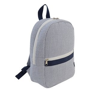 MUD PIE Kids Seersucker Backpack