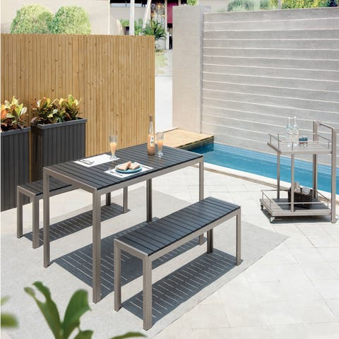Pangea Home Breeze 3-piece Dining Set