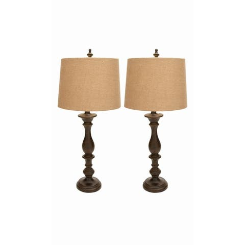 Studio 350 Set of 2, PS Table Lamp 34 inches high