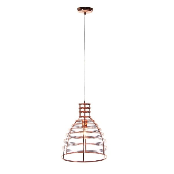 Studio 350 Metal Pendant W Bulb 13 inches wide 18 inches high