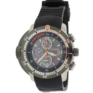 Citizen Eco-Drive Promaster Depth Meter Mens Watch BJ2128-05E