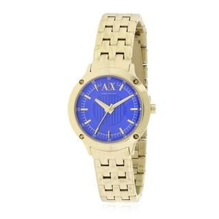 Armani Exchange Gold-Tone Ladies Watch AX5418