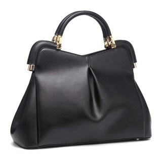 Segolene En Cuir Elegant Satchel Handbag