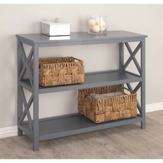 Studio 350 Wood Gray Shelf 39 inches wide, 32 inches high