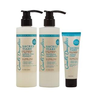 Carol's Daughter Sacred Tiare Shampoo, Conditioner & Styling Cream Set