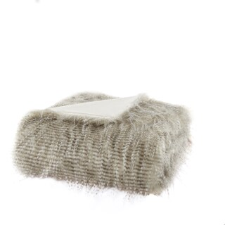 Clay Alder Home Eandco Premium Luxury Faux Fur Throw