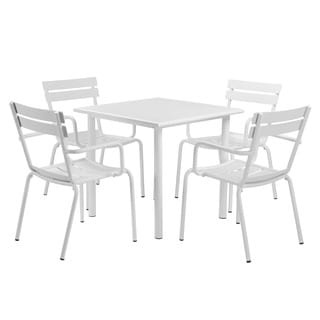 Pangea Home Chair and Table Set (Set of 5)
