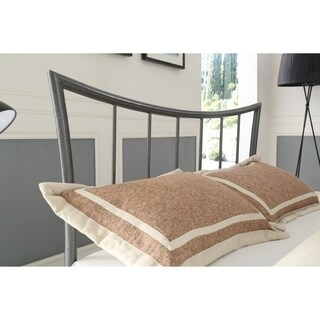 Hodedah Modern Twin Size Metal Bed