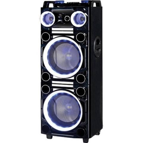Supersonic IQ-6210DJBT Bluetooth Speaker System - 40 W RMS