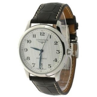 Longines Master Collection Mens Watch L26284783, Black, S...