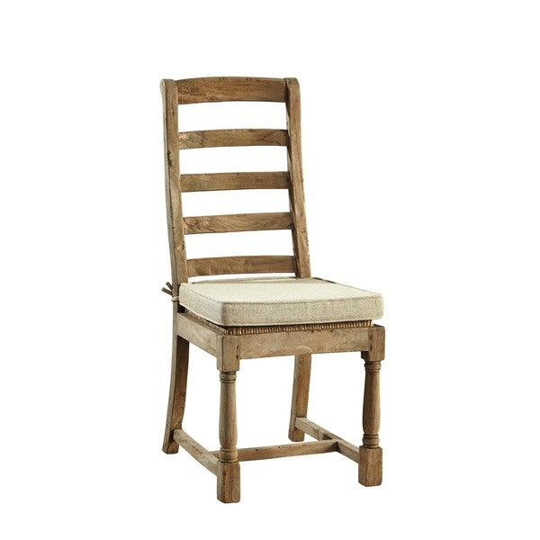 Provincial Country Ladderback Side Chair Set Of 2