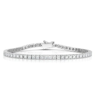 Noray Designs 14K White Gold Diamond (2.60 Ct, G-H Color, SI2-I1 Clarity) Tennis Bracelet
