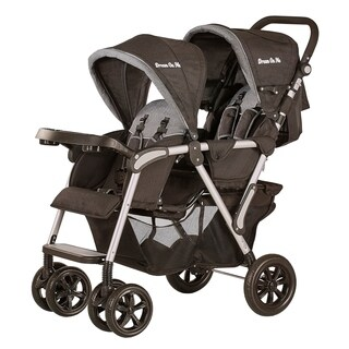 Dream On Me, Villa Tandem Stroller Blue and Grey