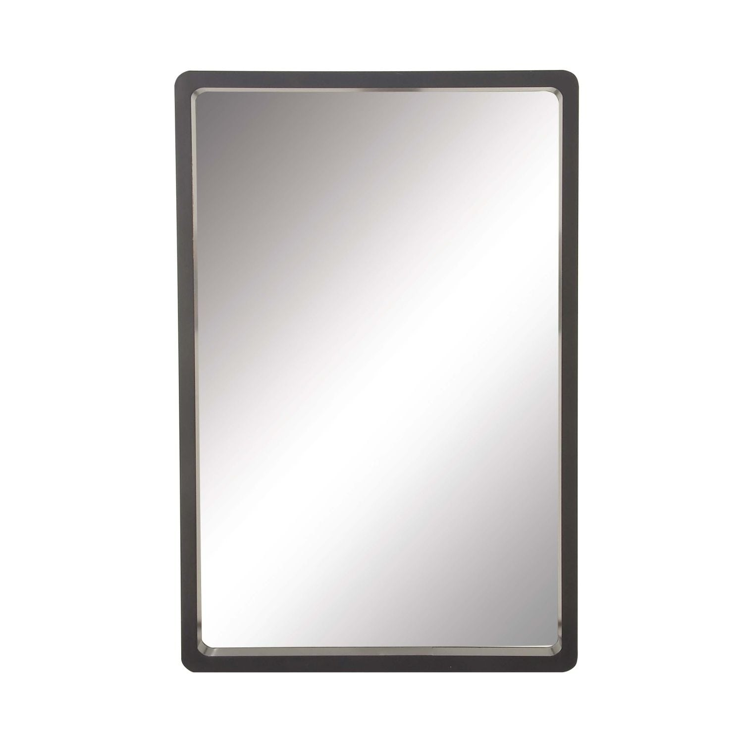 Shop Studio 350 Wood Wall Black Mirror 23 Inches Wide 36