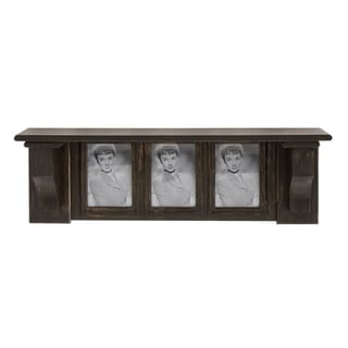 Studio 350 Wood Picture Shelf 30 inches wide, 10 inches high