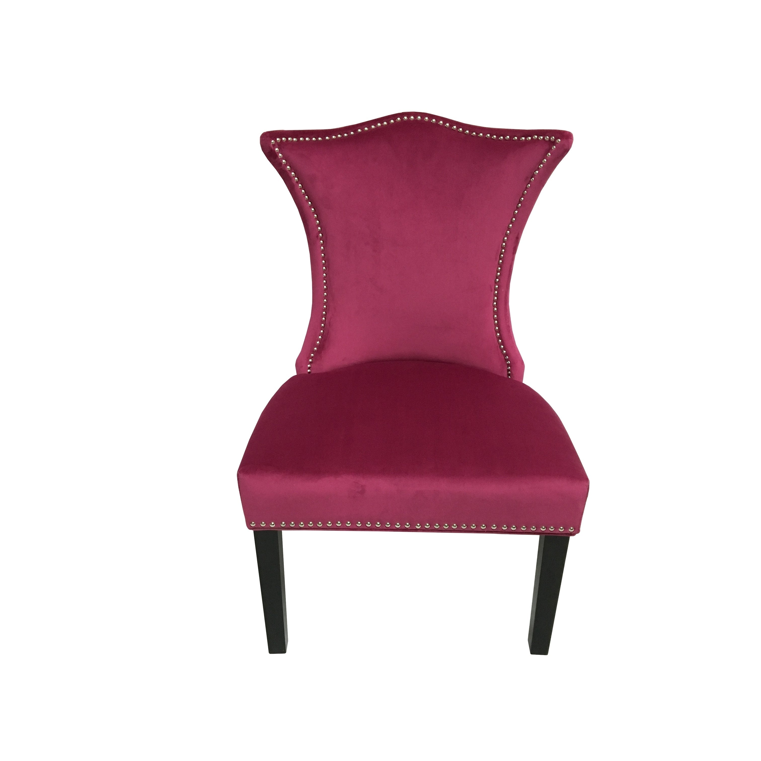 HD Couture Linda Chair Raspberry, China (Birch)