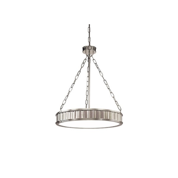 Hudson Valley Middlebury Historic Nickel Metal 5-light Pendant