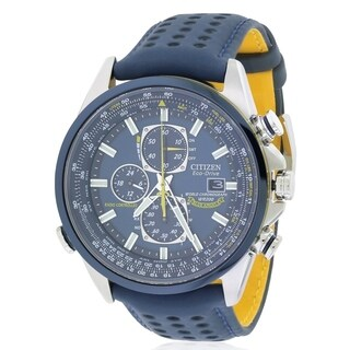 Citizen Eco-Drive Blue Angels Chronograph Atomic Mens Watch AT8020-03L