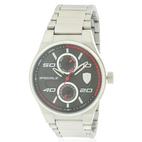 Ferrari Scuderia Speciale Stainless Steel Mens Watch