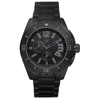 GUESS Gc Sport Class XXL Blackout Ceramic Mens Watch X76010G2S