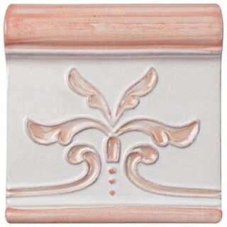 SomerTile 5.25x5.25-inch Nove Canela Friso Evoli Ceramic Wall Tile (3 tiles)