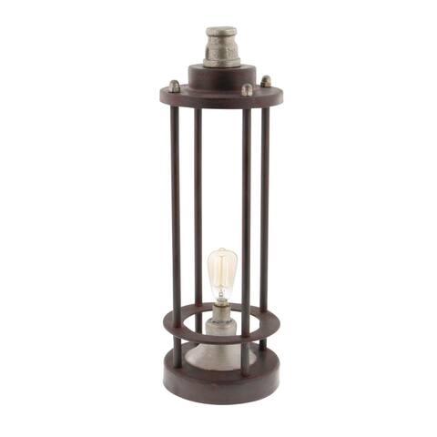 Carbon Loft Seesberger Metal LED Lantern