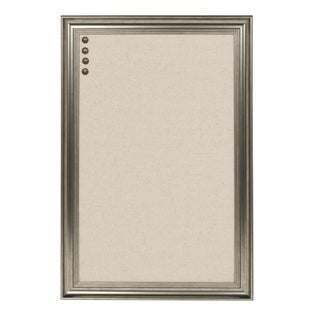 DesignOvation Macon Framed Linen Fabric Pinboard (4 options available)