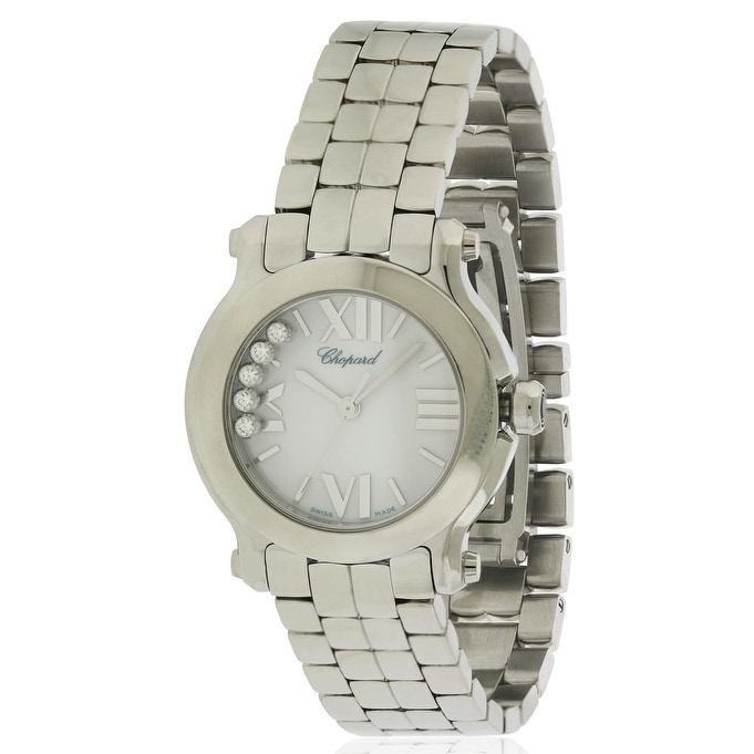 Chopard Happy Sport Ladies Watch 278509-3002, White, Size...