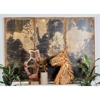 Studio 350 Wood Wall Panels Set of 3, 22 inches wide, 47 inches high