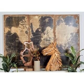"Wood Wall Panels Set of 3, 22""W x 47""H, by Studio 350"