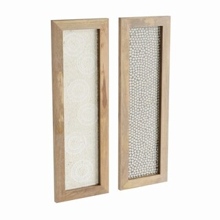 Studio 350 Wood Mosic Wall Panel 2 Ast 12 inches wide, 36 inches high