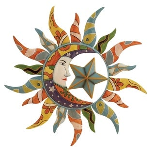 The Curated Nomad Kaltenborn Metal Sun Wall Decor