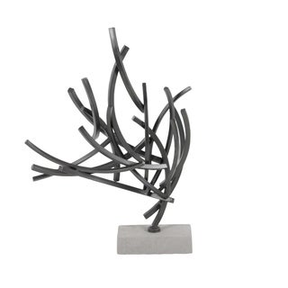 Studio 350 Metal Cement Sculpt 16 inches wide, 23 inches high