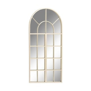 Studio 350 Metal Silver Wall Mirror 24 inches wide, 48 inches high
