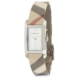 Burberry Haymarket Check Fabric Ladies Watch BU9503