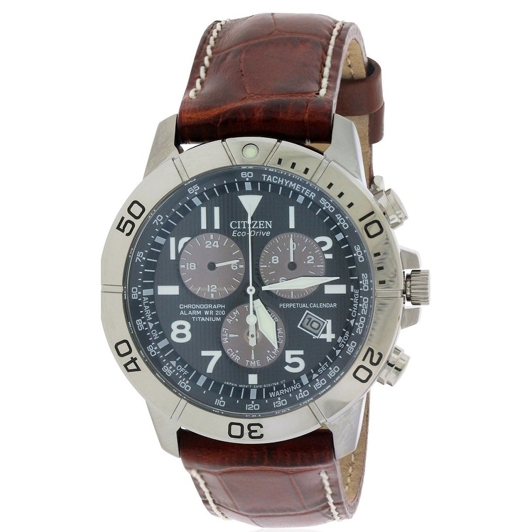 Citizen Eco-Drive Chronograph Mens Watch BL5250-02L, Blac...