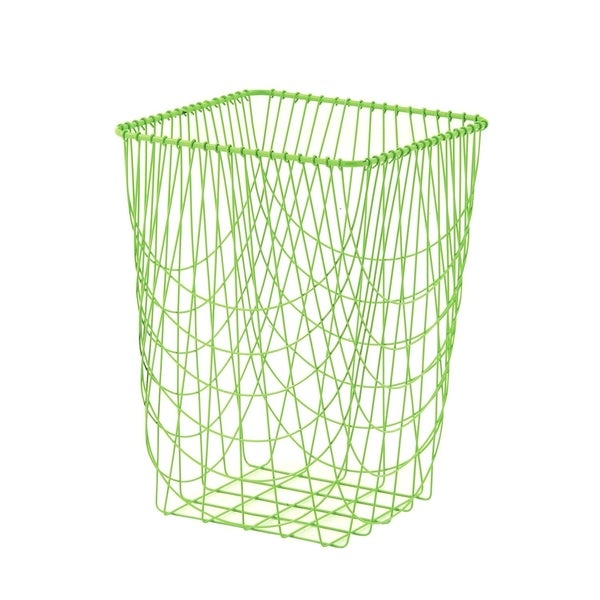 Studio 350 Metal Storage Basket 16 inches wide, 23 inches high