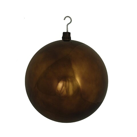 """Huge Commercial Shiny Chocolate Shatterproof Christmas Ball Ornament 16"""" (400mm)"""