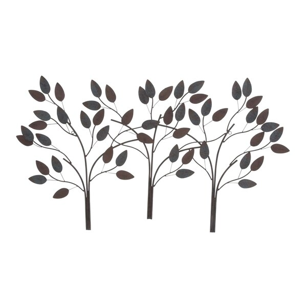 75ae1f027e Shop Copper Grove Kitty Metal Leaf Wall Decor 48-inches wide, 27-inches  high - Free Shipping Today - Overstock - 22695119