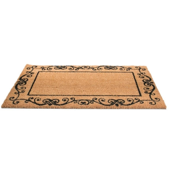 Imports Décor Decorative Border Stylish Contemporary Door Mat