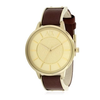 Armani Exchange Leather Ladies Watch AX5310
