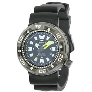 Citizen Eco-Drive Promaster Dive Rubber Mens Watch BN0175-19E|https://ak1.ostkcdn.com/images/products/17360791/P23602979.jpg?impolicy=medium