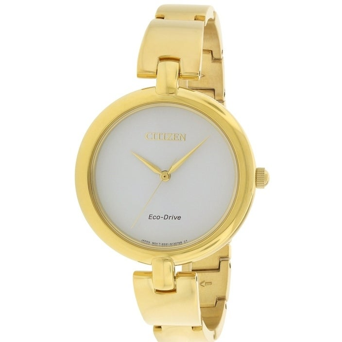 Citizen Eco-Drive Silhouette Ladies Watch EM0222-82A, Whi...
