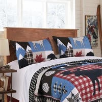 Greenland Home Mountain Trail Pillow Sham Set (Set of 2)