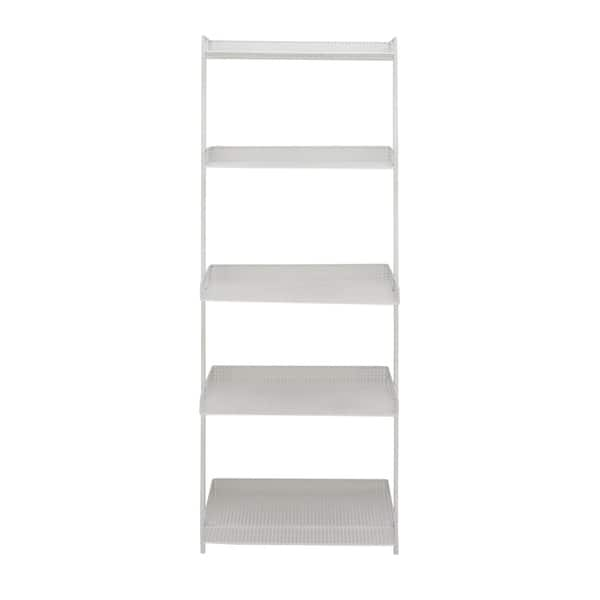 Shop Studio 350 Metal White Leaning Shelf 23 inches wide, 62