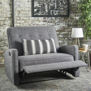 Calliope Fabric 2-Seat Recliner Club Chair by Christopher Knight Home