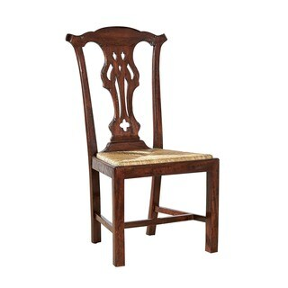 Doris Wood Chippendale Side Chair (Set of 2)