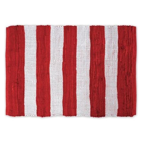 DII Striped Rag Rug